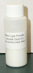 Longarm Quilting Supplies - Black Light Powder - Sm ( 2oz)
