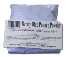 Quilt Pounce Barely Blue Chalk Powder
