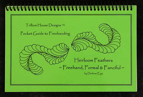 Heirloom Feathers - Freehand, Formal, & Fanciful Pocket Guide cover