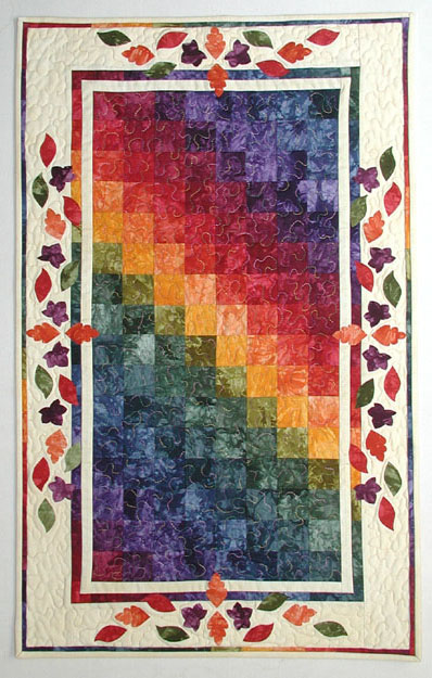 Indian Summer Charm Pack Project Sheet - Charm Packs Plus - Fabric - Hand Dyes