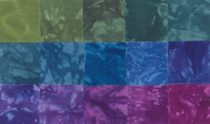 Trinidad - Fat Quarters - 15 Pack - Fabric - Hand Dyes