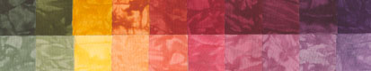 Happy Harvest - Fat Quarters - 20 Pack - Country - Fabric - Hand Dyes