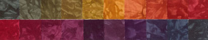 Homespun Harmony - Fat Quarters - 20 Pack - Country - Fabric - Hand Dyes