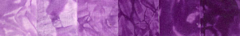 Groovy Grapes - Fat Quarters - 6 Pack - Single Color Bright Graduations - Fabric - Hand Dyes