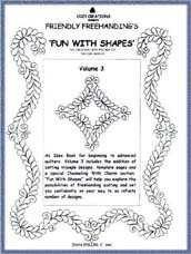 Fun With Shapes Volume 3 - Diana Phillips - Quilt Book