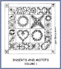Inserts & Motifs Volume 1 - Diana Phillips - Quilt Book