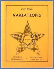 Variations Volume 1 - Diana Phillips - Quilt Book