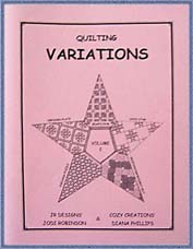Variations Volume 2 - Diana Phillips - Quilt Book